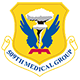 Logo: 509th Medical Group - Whiteman Air Force Base
